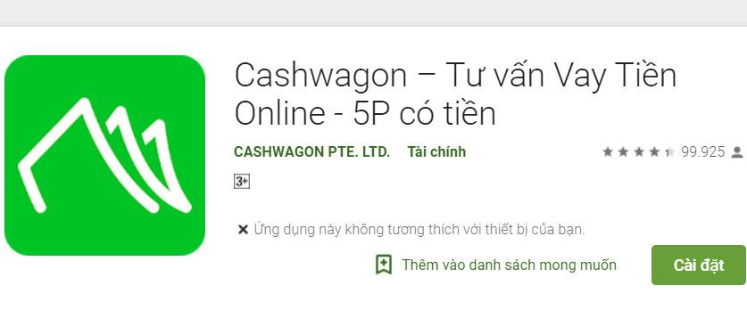 Tải cashwagon.vn ios/apk - Ứng dụng cashwagon vay tiền online không lđ