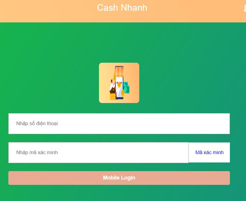 App cash nhanh