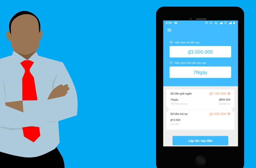 các app vay tiền không thẩm định người thân