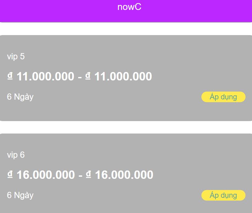 Đăng ký vay tiền webapp nowc