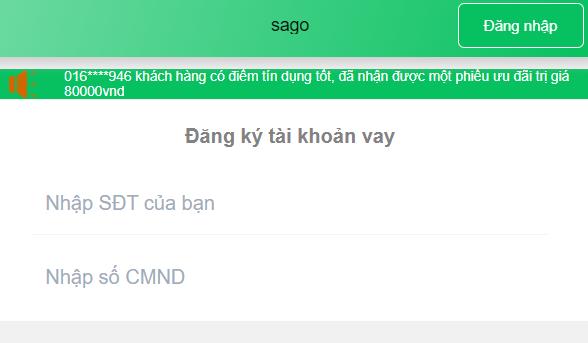 Loan sago